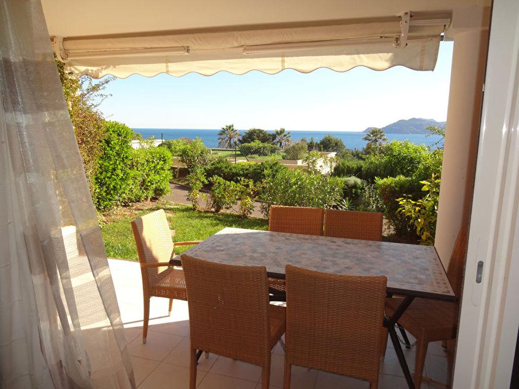 Appartement Cannes Croix des Gardes, 3 pièces vue mer panoramique