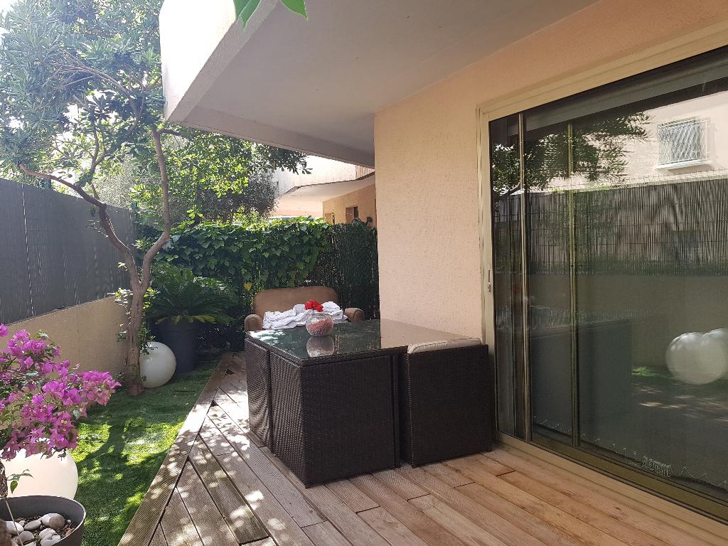 Appartement 3 pièces en rez de jardin de 56 m² sur Cannes