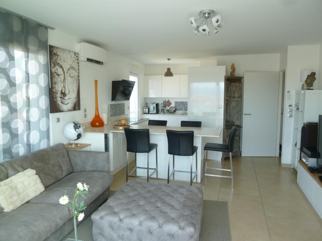 Appartement Cannes 2 pièces 51 m² - Vue mer