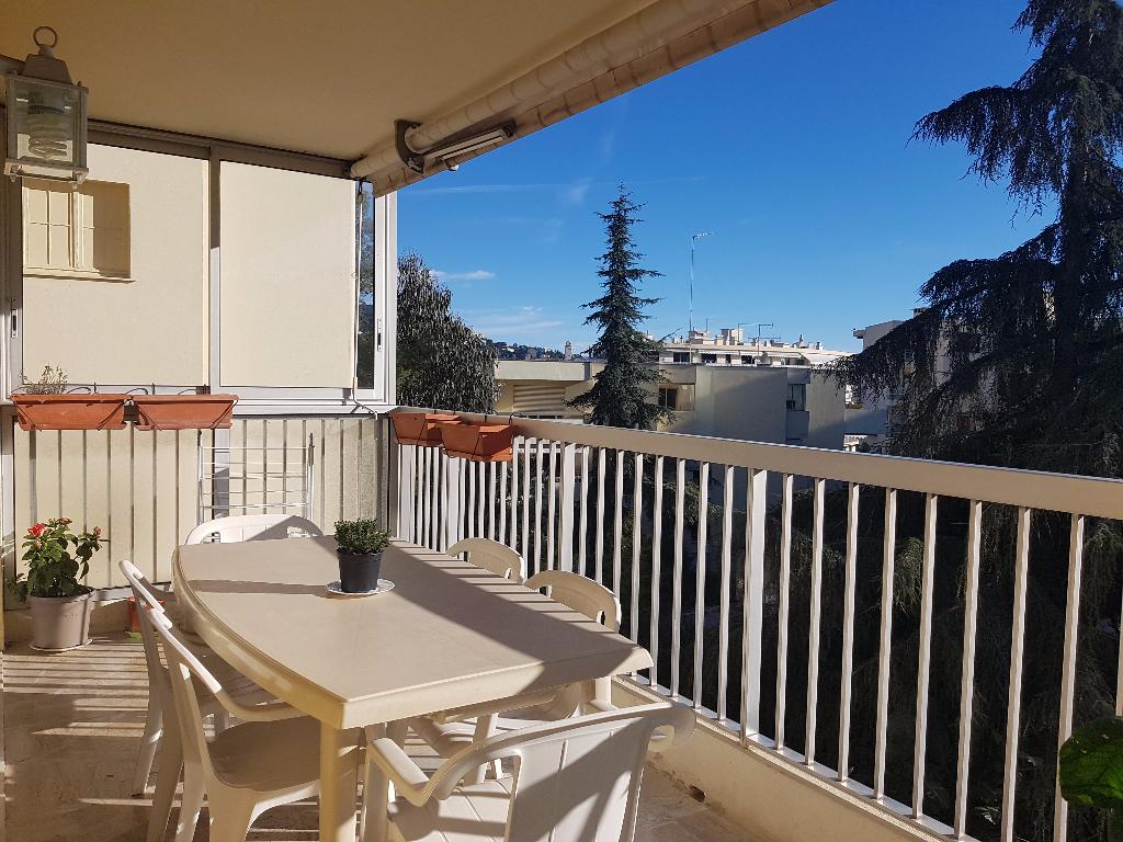 Appartement 3 pièces de 64 m² sur Cannes