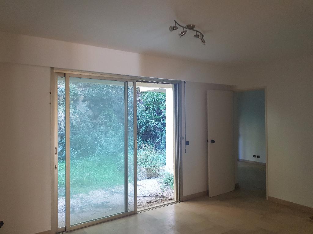Appartement rez de jardin de 37 m2 sur Cannes