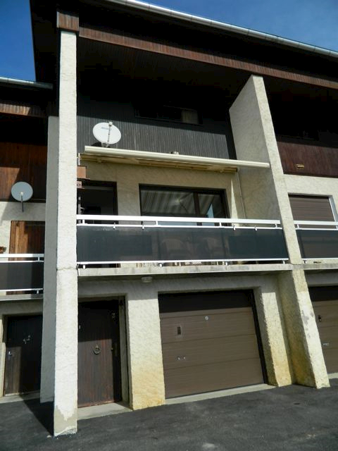 LA TOUSSUIRE, Chalet en duplex de 57m2 env sur garage avec superbe vue sur les Aiguilles d'Arves
