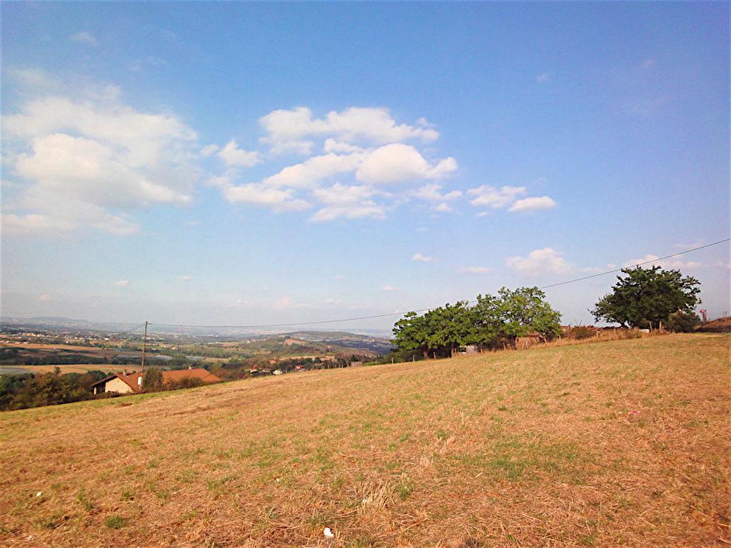 Terrain constructible de 2161m2  proche de le vallée du Rhônà Saint-jacques d'Atticieux
