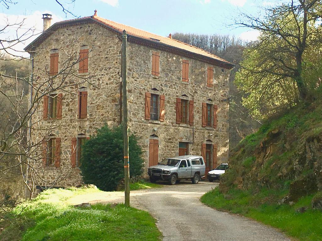 Grande maison en pierre comprenant un loft à 10 minutes de Davezieux
