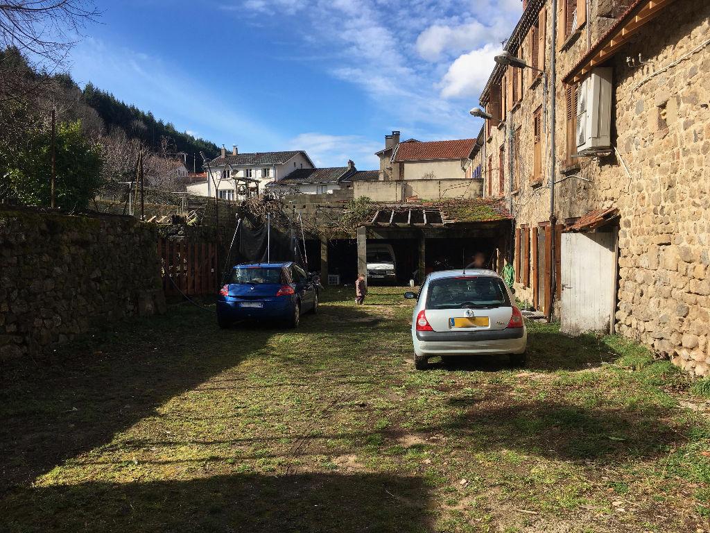 Appartement entièrement rénové de 111 m2  plan pied avec terrain clos à 10 km d'Annonay