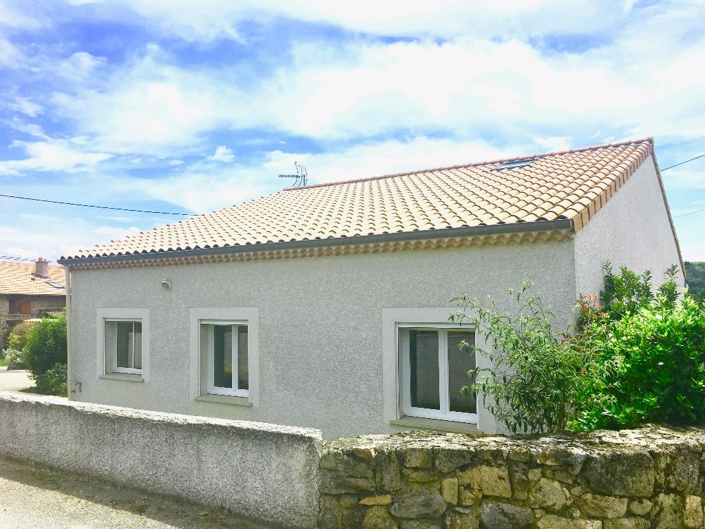 Magnifique maison récente avec chambres et salle d'eau plan pied avec terrasse proche de Sarras