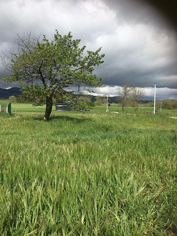 Magnifique Terrain plat viabilisé de 784 M2 à Quintenas, à 1 kilomètre du village