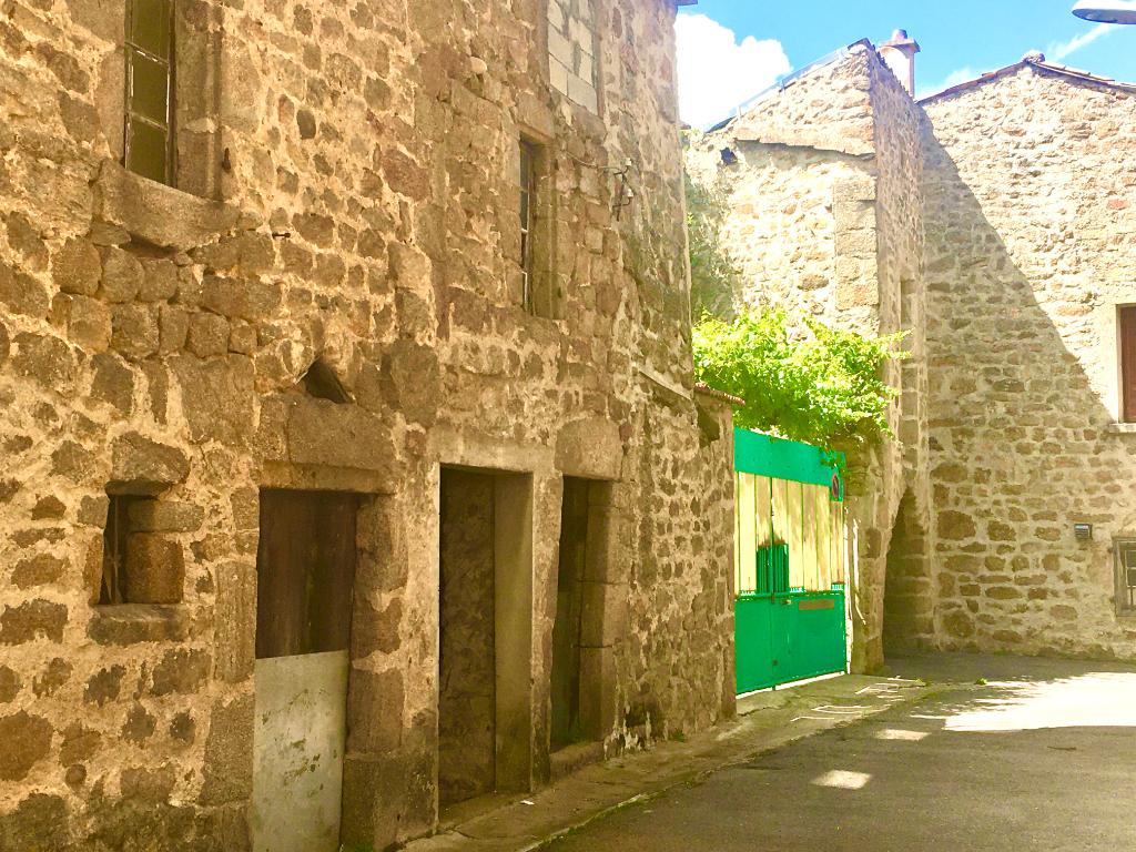 Maison en pierre de village à rénover de 100m2 environs à 5 minutes d'Annonay