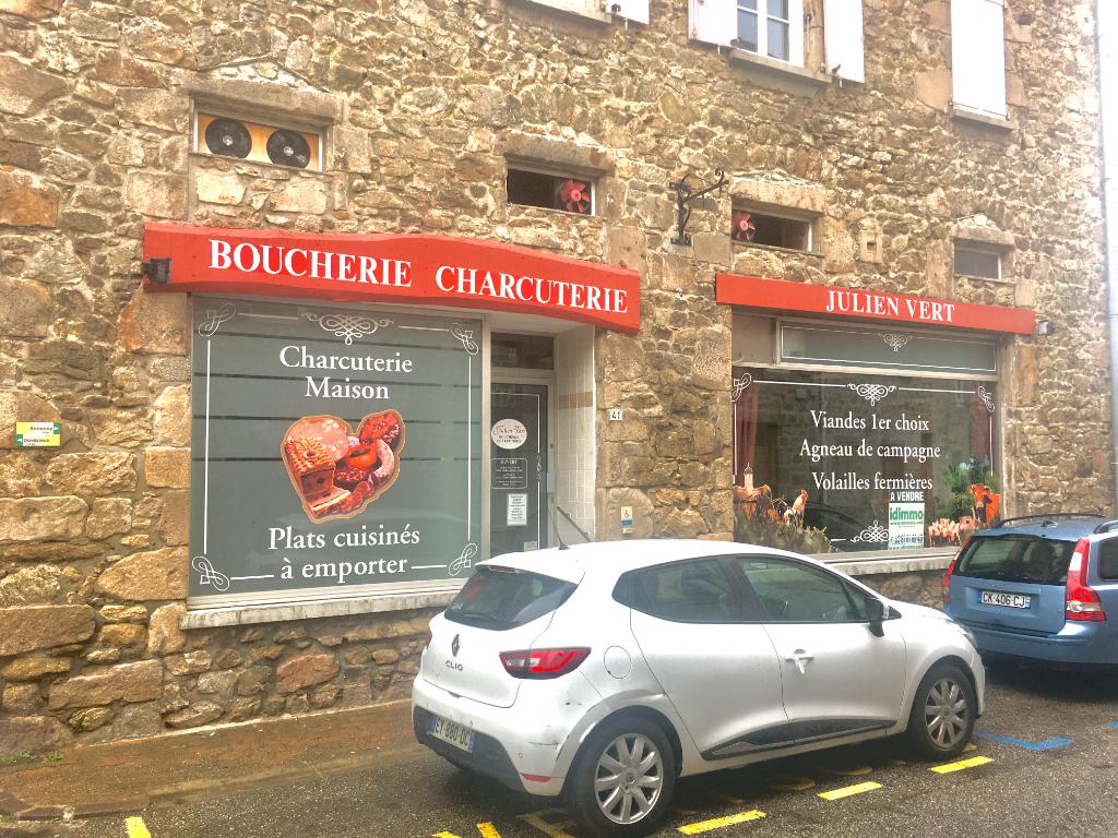 Magnifique local commercial de 80 m2 en plein centre de Boulieu Les Annonay