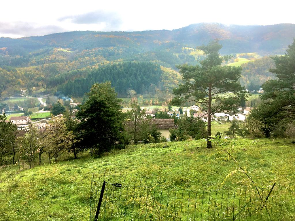 Magnifique Terrain constructible de 1260 m2 à 6 km d'Annonay