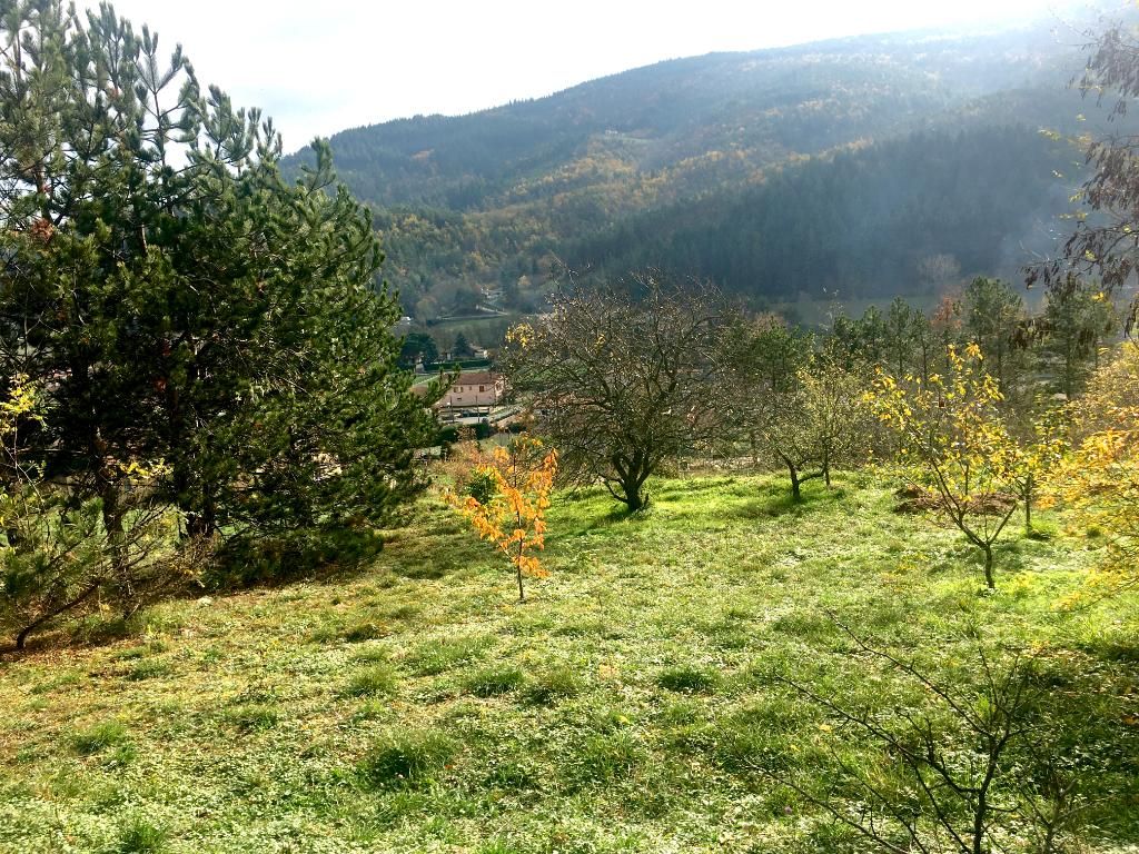 Magnifique terrain de 1230 m2, viabilités en bordure à Villevocance