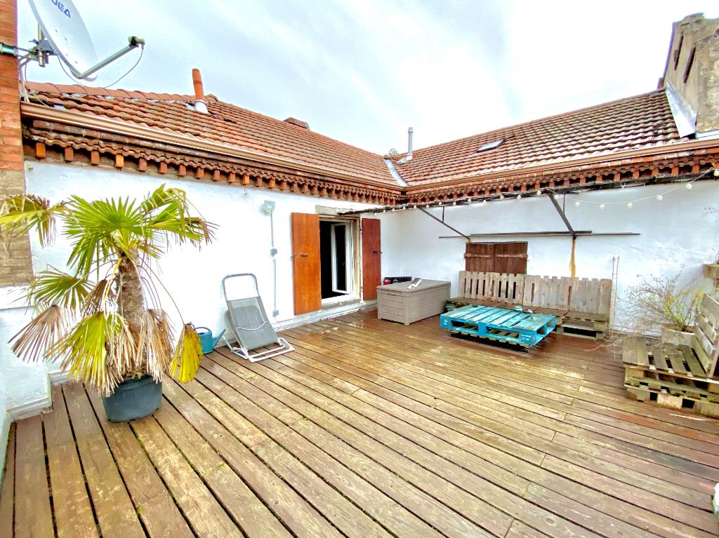 Magnifique appartement de 51 m2, belle vue avec terrasse à Annonay 2 pièce(s)