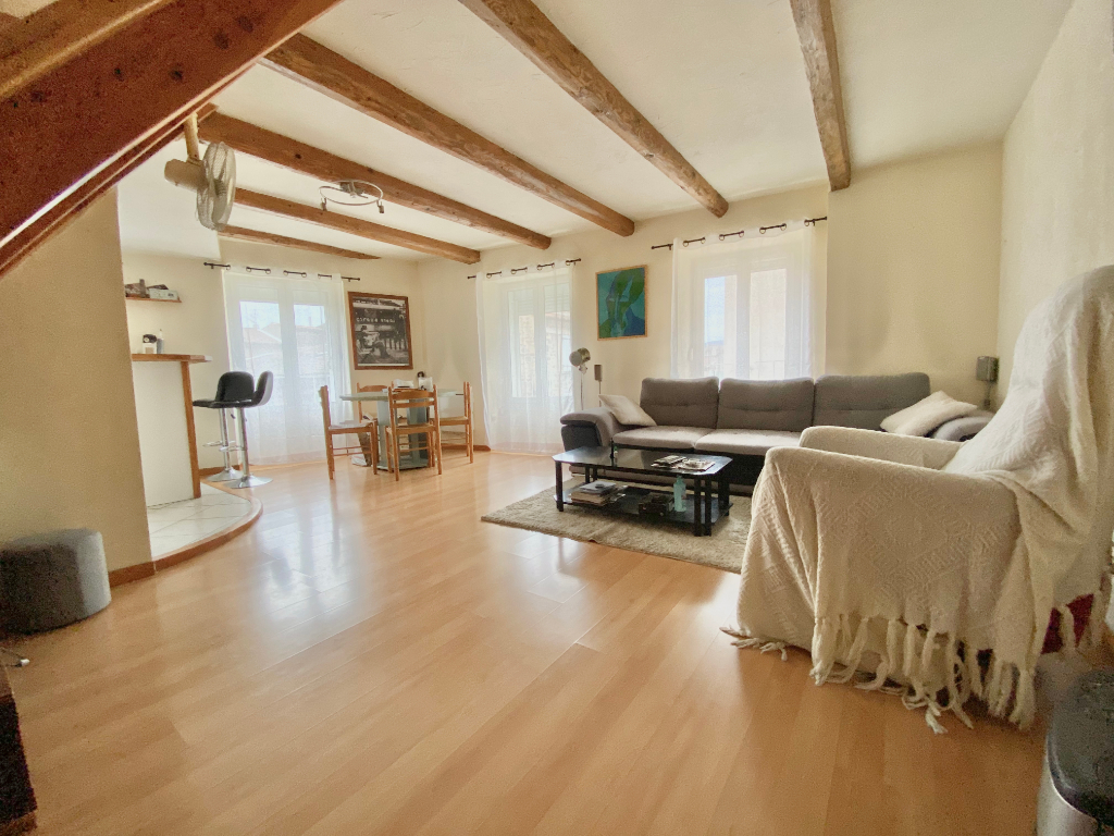 Magnifique Duplex de 59 m2 avec une chambre avec une possibilité de 2 chambres à Annonay