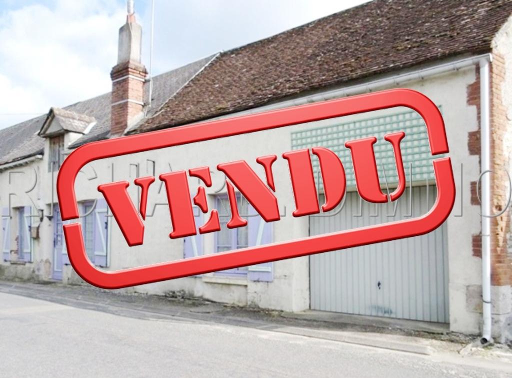 Maison A VENDRE sur 190 m²  de Terrain + Garage et dépendance