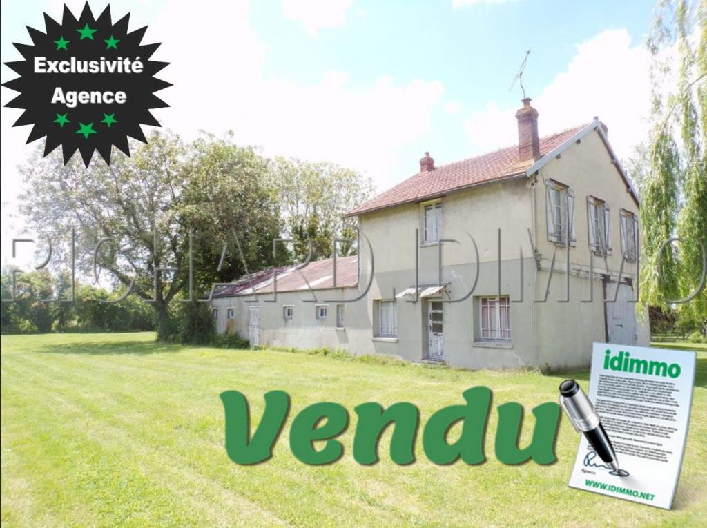 Maison A VENDRE sur 2590 m² de terrain environ + Grande dépendance