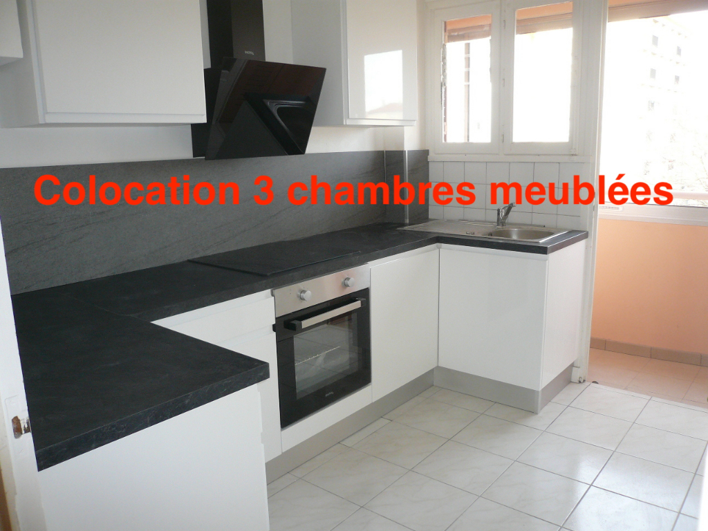 colocation individuel de 3 chambres surface total 68.50 m2
