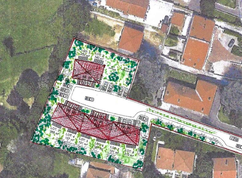 Terrain pour créer un lotissement de 8 a 9 maisons