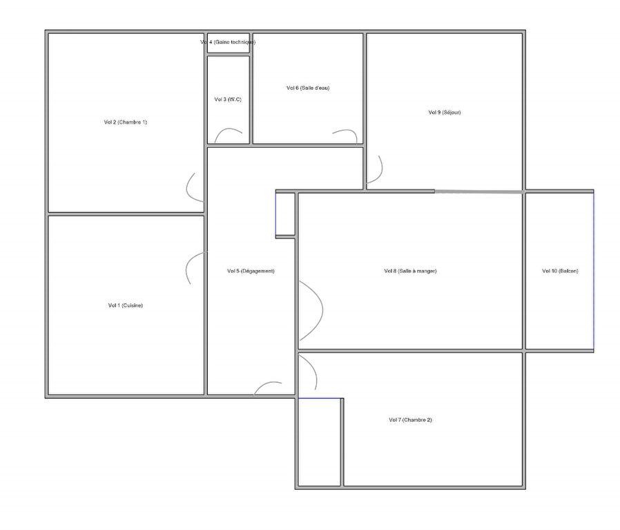 Chambre Lyon 4 pièce(s) 79.54 m2
