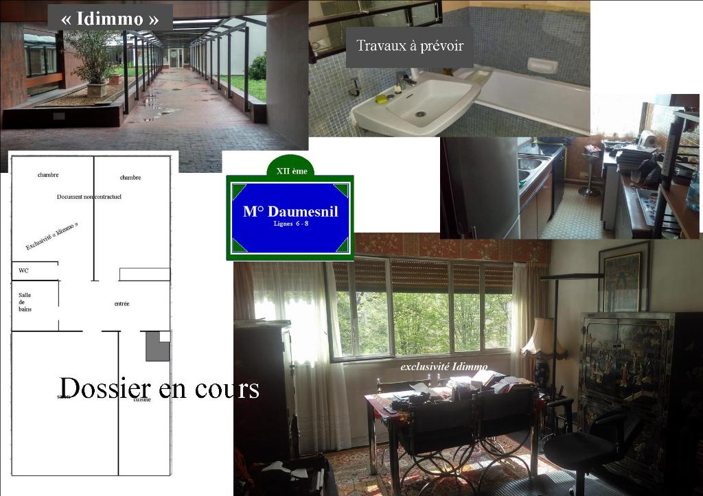Appartement Paris 3 pièce(s) 62 m2