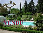 VENDU MAS PROVENCAL XVè RENOVE HAUT de GAMME PISCINE CHAUFFEE PARC 25 000 M2 TAFFURO Ref 1124