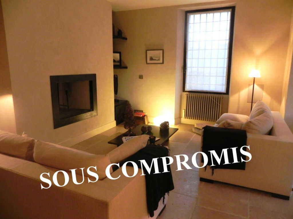 SOUS COMPROMIS MAS de VILLAGE entièrement restauré confort COUR Ref TAFFURO 1849
