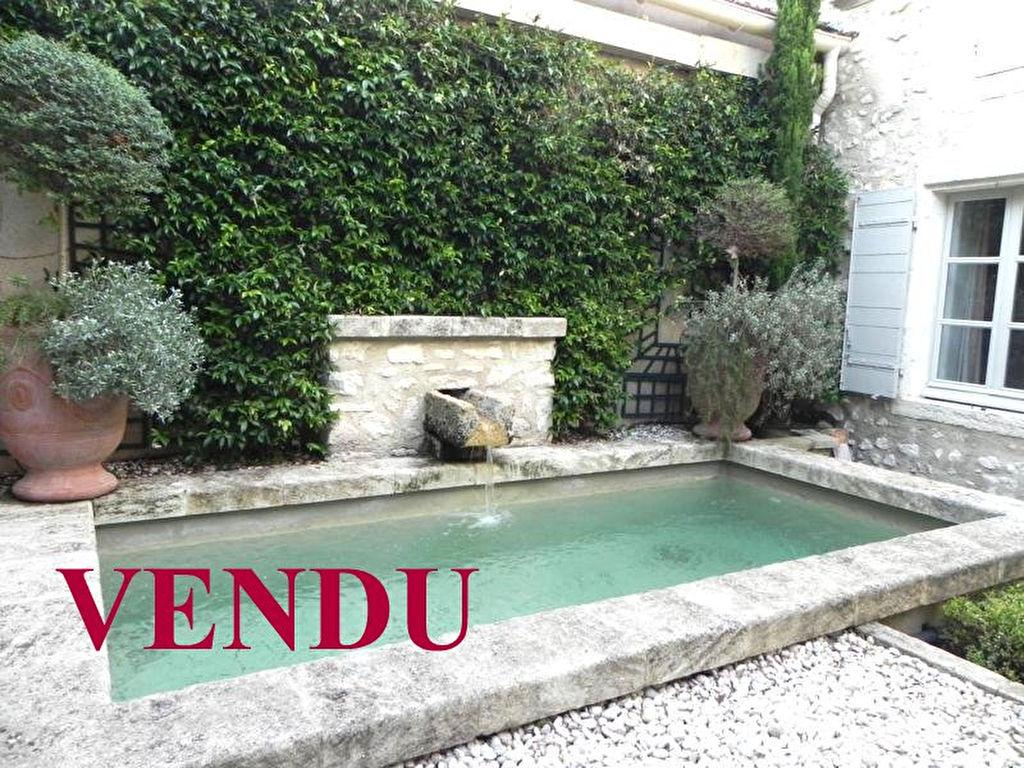 VENDU  MAS VILLAGE XVIIIème  en pierre RESTAURATION LUXE BASSIN PARC Ref TAFFURO 2178