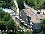ARDECHE TRES RARE HOTEL env. 3200 M2 RIVIERE PLAGE TURBINE- EXCLUSIVITE d'AGENCE TAFFURO REF 2970