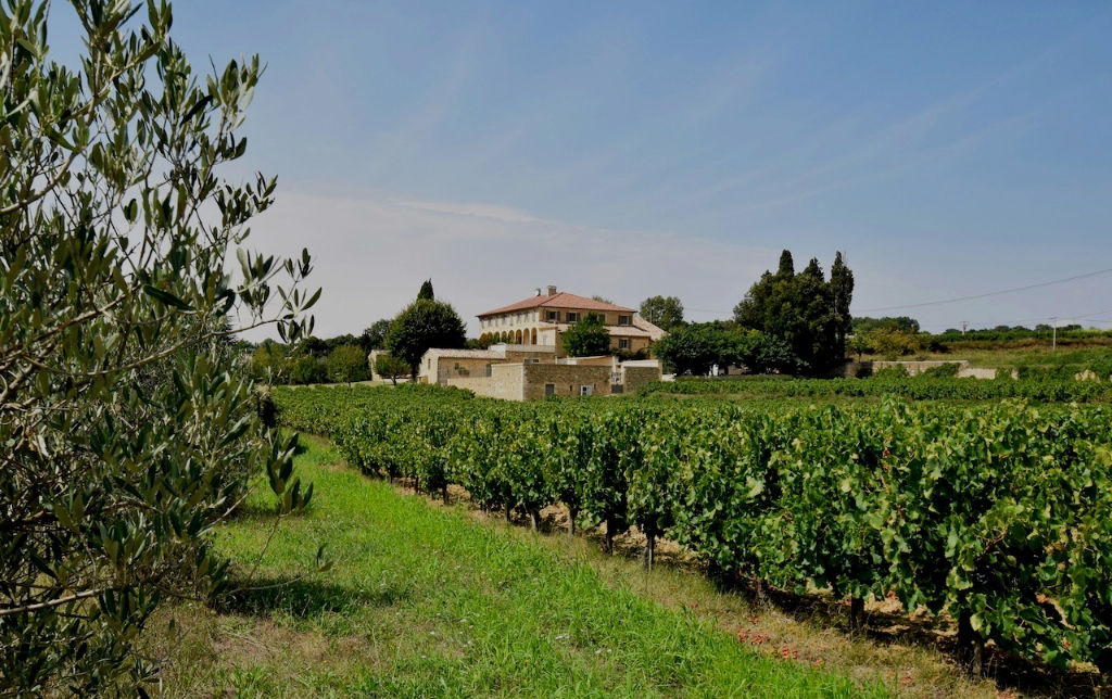UZES, magnificent master vigenerons property with 2 acres AOC Cotes du Rhone