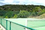 Uzès, region, charmante maison avec vue panoramique, piscine et tennis sur 1h4 terrain
