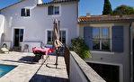 Uzès proche, charmante maison de village ancienne, piscine, garage, vues panoramique