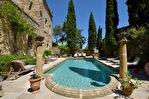 Château, XVIIème, proche Avignon, splendide rénovation , piscine et jardins en terrasses
