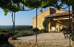 Uzès 20 mns, charmante maison d'hameau en pierre, beau jardin, vue panoramique
