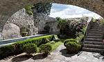 Château médiéval, ISMH, piton rocheux, village classé, surplombant les Gorges de l'Ardèche