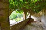 Vallée de la Cèze,  village parmi les plus beaux de France, maison de caractère, XVI eme siècle, vue surplombant la rivière