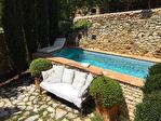 UZES région, élégant Maison de maître avec joli jardinet et  piscine à 10 minutes d'Uzès