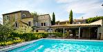 UZES, grand et beau Mas ,jardins, verger et piscine chauffée