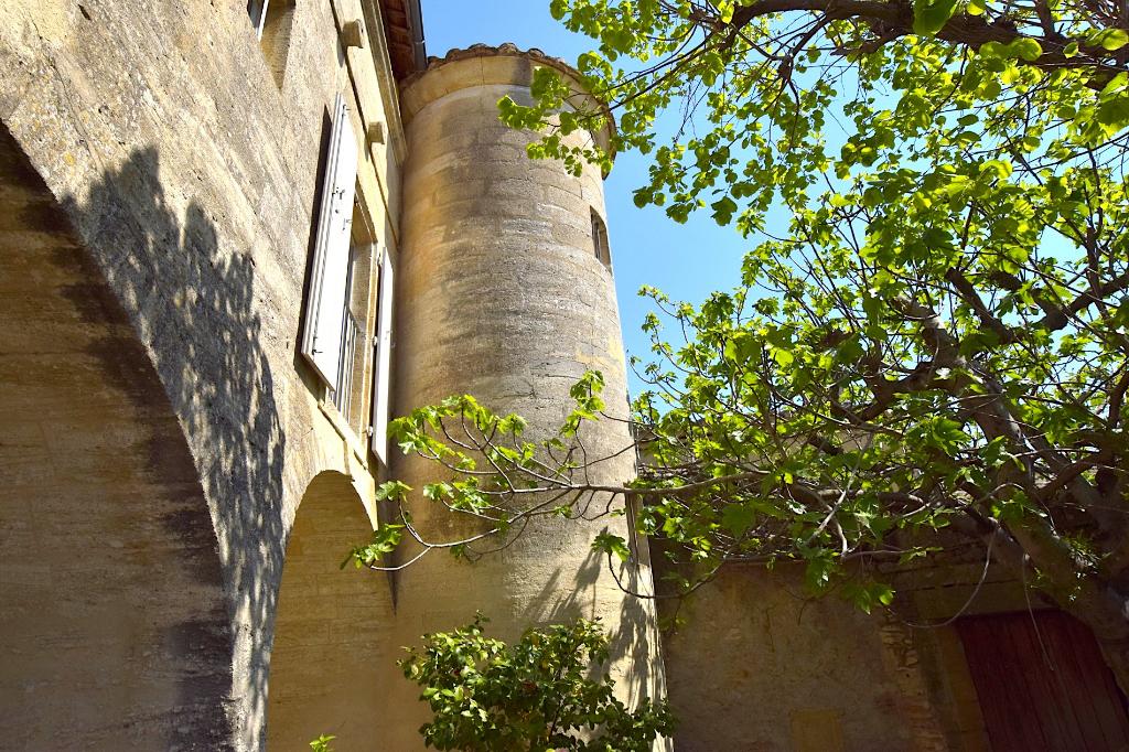 Uzès, splendid property in sought after village close to Uzès , 520 m2 on 1430m2 of garden with pool.