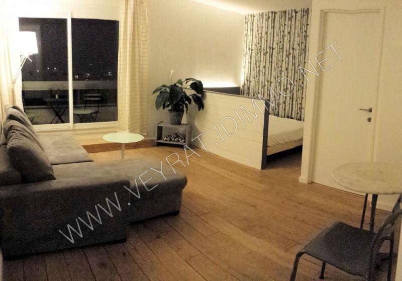 // Loué // Studio meublé 25m² / Issy-les-Moulineaux / 875€ CC/mois
