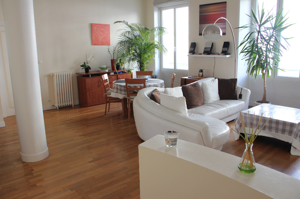 LOCATION BREST CENTRE JAURES APPARTEMENT T4 83m²