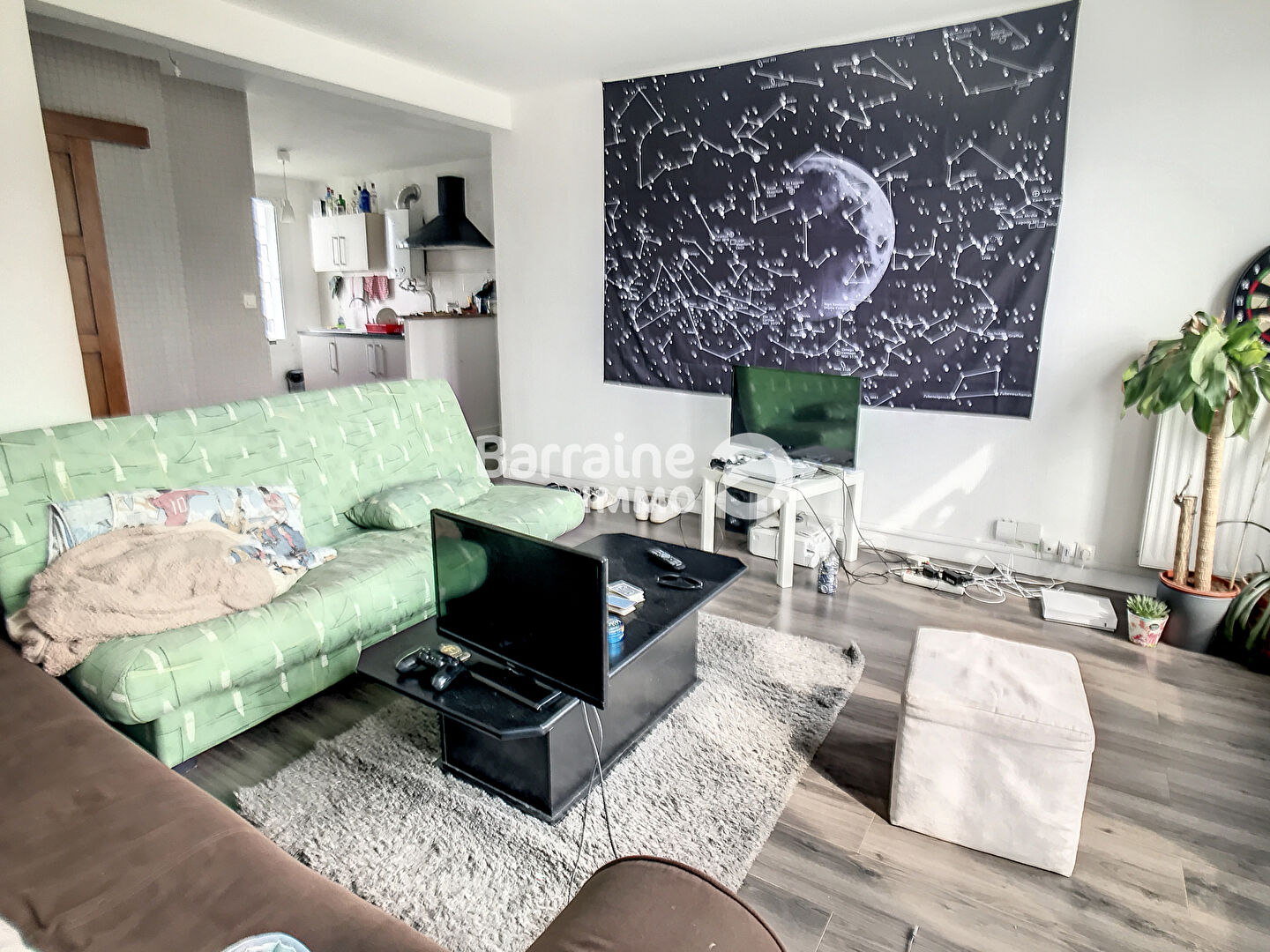 LOCATION BREST KERICHEN APPARTEMENT T3 57.86 M² AVEC GARAGE CAVE