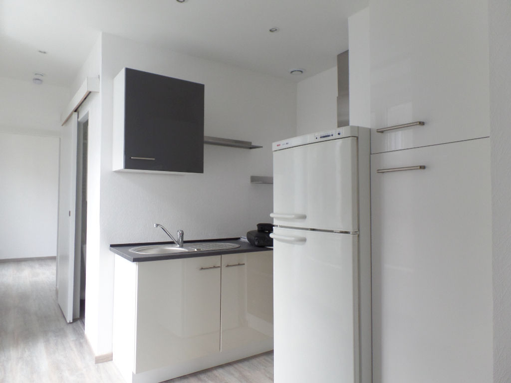 LOCATION BREST SAINT MICHEL APPARTEMENT T1 BIS 35.01 m² ENTIEREMENT RENOVE
