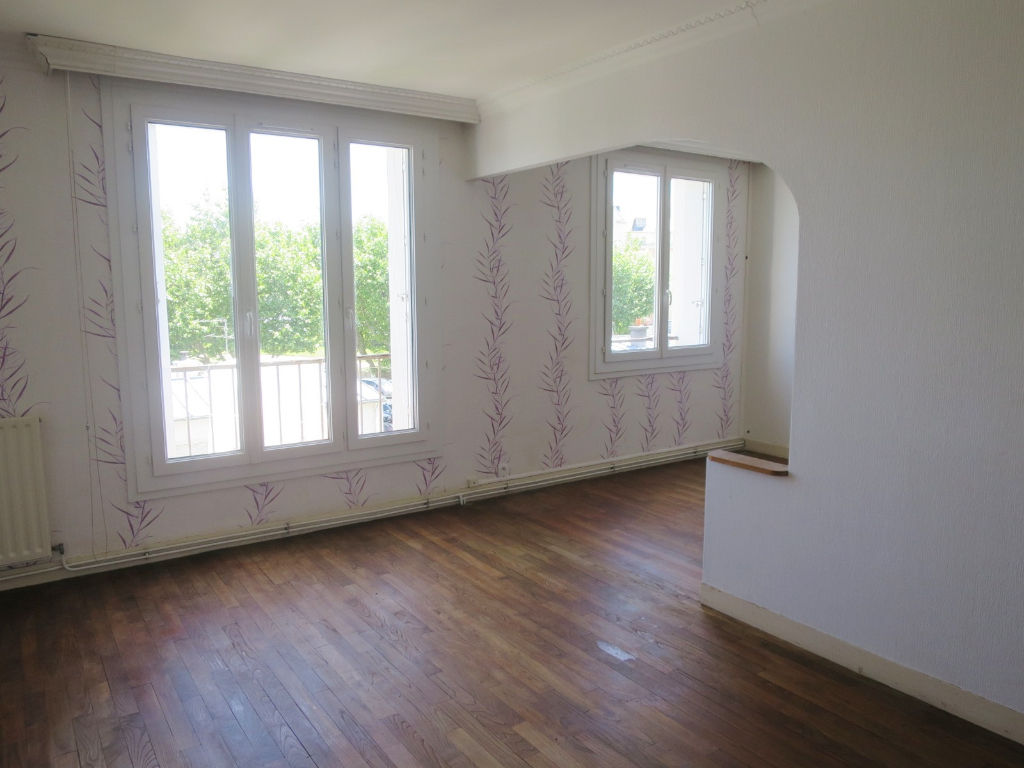 A VENDRE BREST STRASBOURG APPARTEMENT T4 63 M² EXPOSE SUD