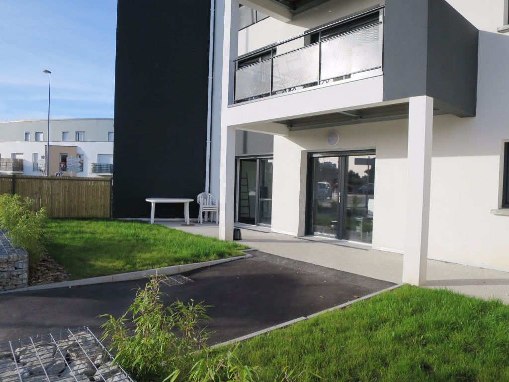LOCATION   LE RELECQ-KERHUON MOULIN BLANC   APPARTEMENT T2   44,30M²  TERRASSE JARDIN PRIVATIFS 68 M² RESIDENCE NEUVE