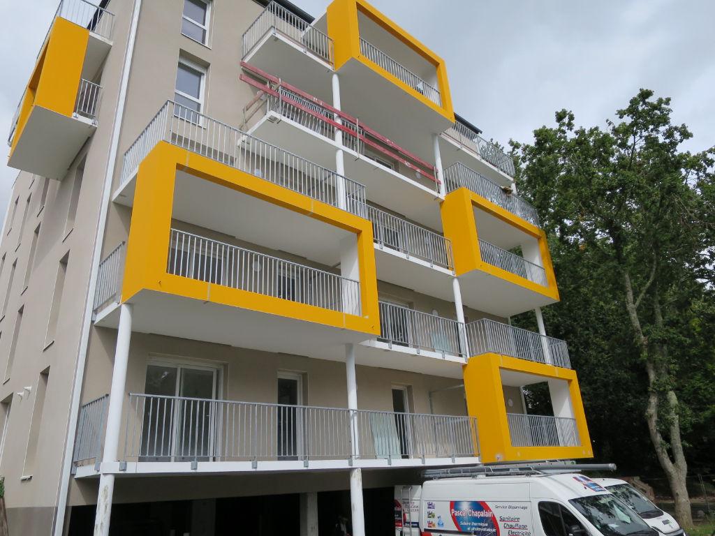 A LOUER BREST  VALLON DU STANGALARD APPARTEMENT T2 41.71 m² RÉSIDENCE NEUVE