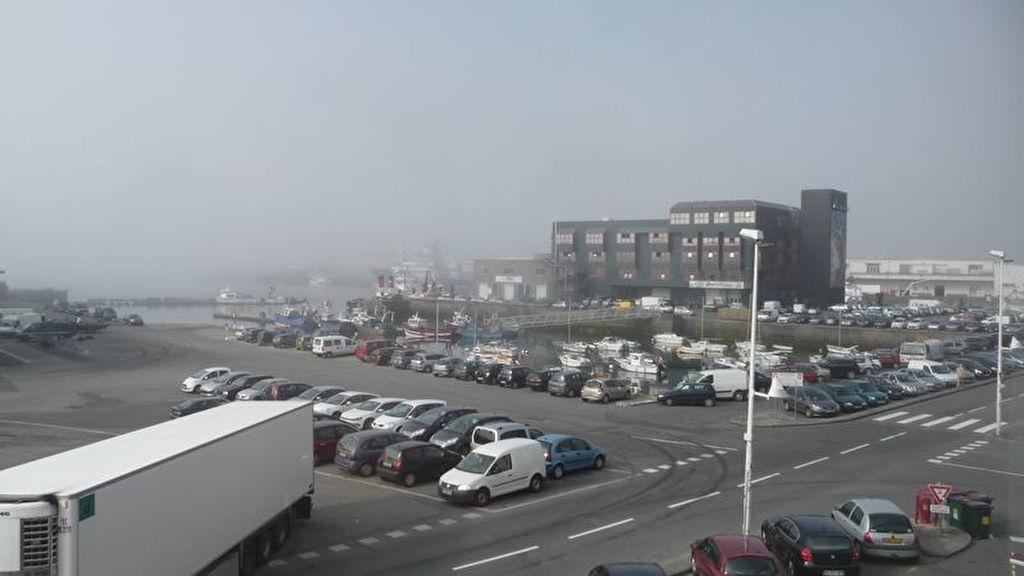 Bureaux Brest port de commerce vue mer
