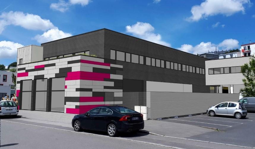 Bureaux Brest 490 m2