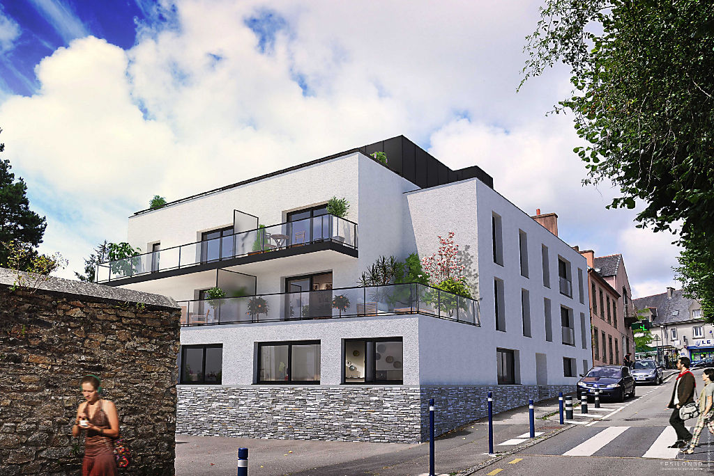 LES TERRASSES DE BOHARS - Bohars centre - T3 avec terrasse et parking