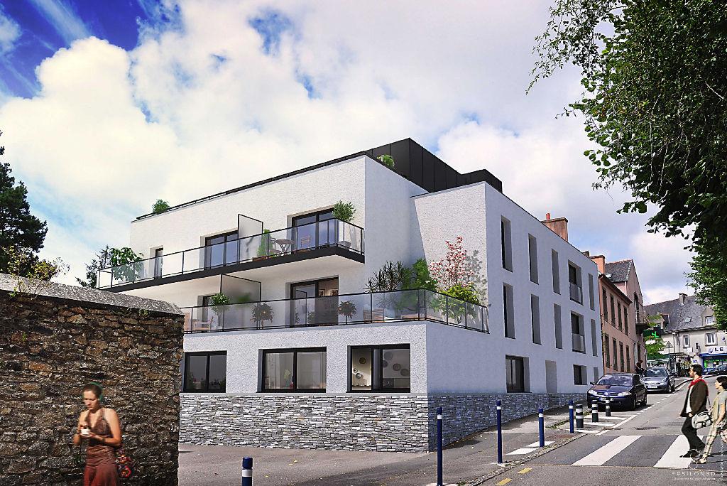 LES TERRASSES DE BOHARS - Bohars centre - T3 avec terrasse et BOX parking