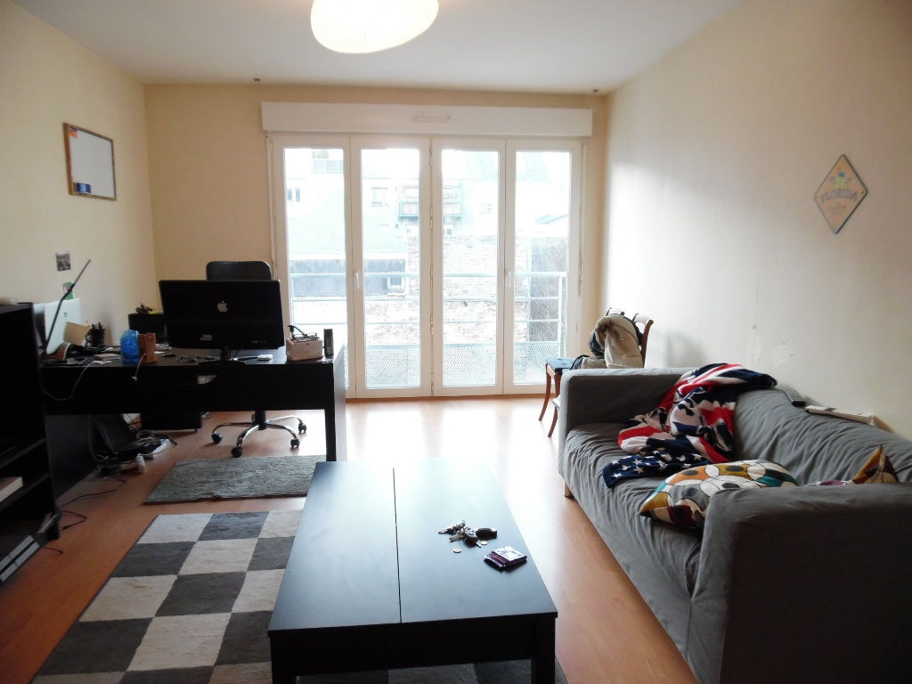 A VENDRE  BREST  JAURES  APPARTEMENT T2  1 CHAMBRE  42M²  RESIDENCE RECENTE  PARKING PRIVATIF  ASCENSEUR