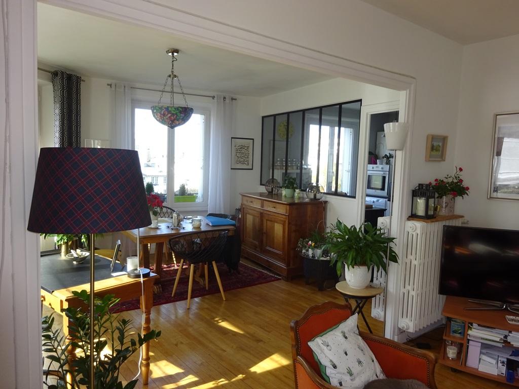 A VENDRE BREST BRANDA PROCHE LIBERTE APPARTEMENT T4 de 82.22 m² habitables - 2 Balcons